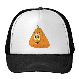 Cartoon Pumpkin Tall Trucker Hat