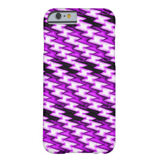 Cartoon Purple Heart X-ray Barely There iPhone 6 Case