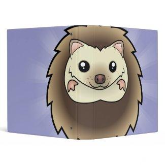 Cartoon Pygmy Hedgehog binder