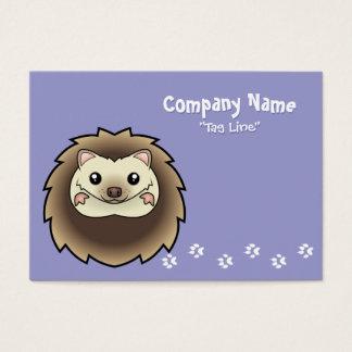 Cartoon Pygmy Hedgehog Business Card