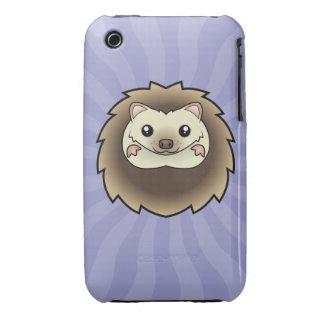 Cartoon Pygmy Hedgehog Case-Mate iPhone 3 Cases