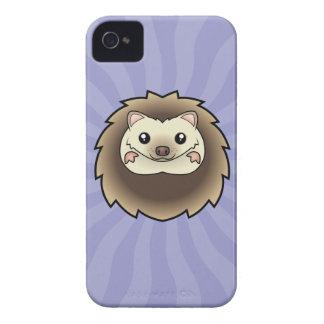 Cartoon Pygmy Hedgehog Case-Mate iPhone 4 Cases