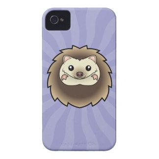 Cartoon Pygmy Hedgehog iPhone 4 Case