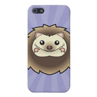 Cartoon Pygmy Hedgehog Cover For iPhone 5