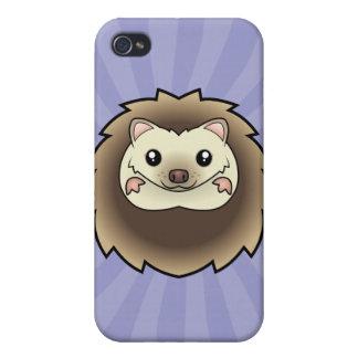 Cartoon Pygmy Hedgehog iPhone 4/4S Cases