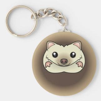 Cartoon Pygmy Hedgehog Key Chains