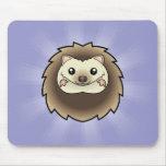 Cartoon Pygmy Hedgehog Mousepad
