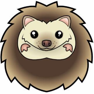 Cartoon Pygmy Hedgehog Photo Cut Out