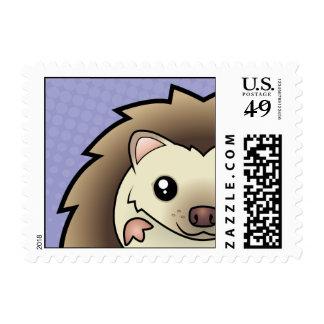 Cartoon Pygmy Hedgehog Postage