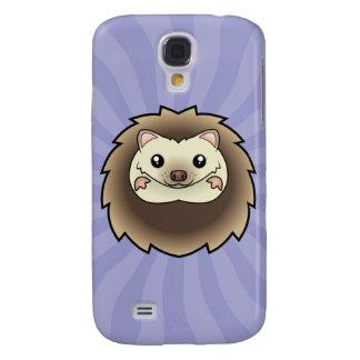 Cartoon Pygmy Hedgehog Samsung Galaxy S4 Cover