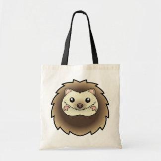 Cartoon Pygmy Hedgehog Tote Bag
