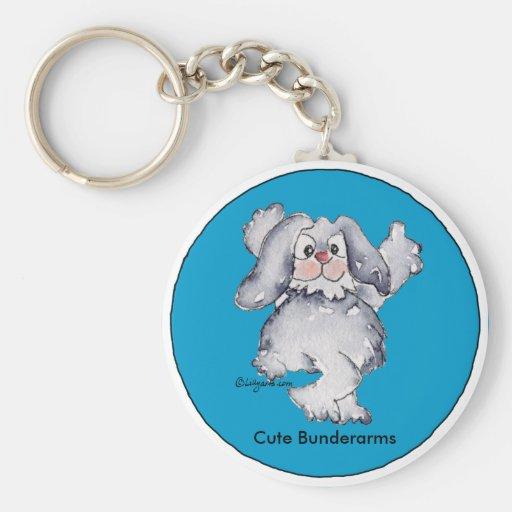 Cartoon Rabbit Cute Personalized Keychains