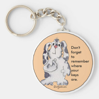 Cartoon Rabbit Cute Personalized Keychains
