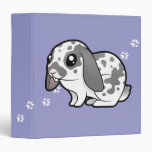 Cartoon Rabbit (floppy ear smooth hair) Binder