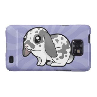 Cartoon Rabbit (floppy ear smooth hair) Galaxy SII Cases