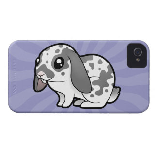Cartoon Rabbit (floppy ear smooth hair) Case-Mate iPhone 4 Case