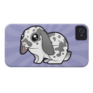 Cartoon Rabbit (floppy ear smooth hair) Case-Mate iPhone 4 Case