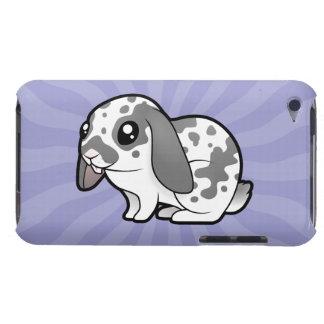Cartoon Rabbit (floppy ear smooth hair) Case-Mate iPod Touch Case