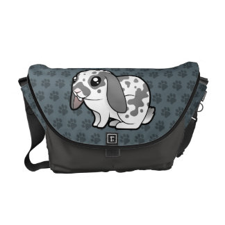 Cartoon Rabbit (floppy ear smooth hair) Courier Bag