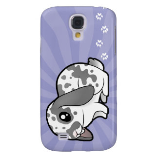 Cartoon Rabbit (floppy ear smooth hair) Galaxy S4 Case