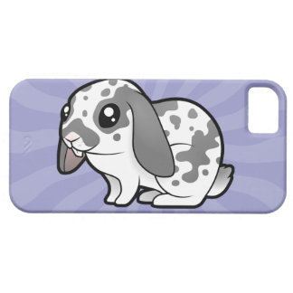 Cartoon Rabbit (floppy ear smooth hair) iPhone SE/5/5s Case