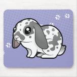 Cartoon Rabbit (floppy ear smooth hair) Mousepad
