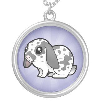 Cartoon Rabbit (floppy ear smooth hair) Custom Jewelry