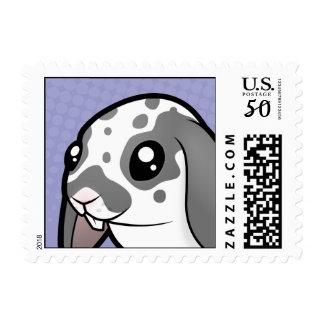 Cartoon Rabbit (floppy ear smooth hair) Postage