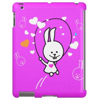 Cartoon Rabbit Jumping Rope - Pink
