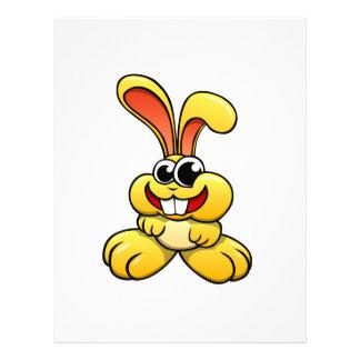 Cartoon Rabbit Letterhead Template