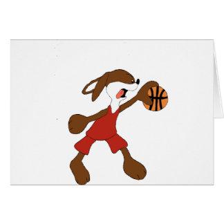 Cartoon Rabbit Michael Jordan Fan Card