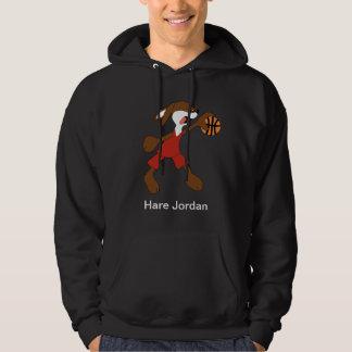 Cartoon Rabbit Michael Jordan Fan Hoody