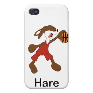 Cartoon Rabbit Michael Jordan Fan Cases For iPhone 4