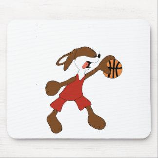 Cartoon Rabbit Michael Jordan Fan Mouse Pad
