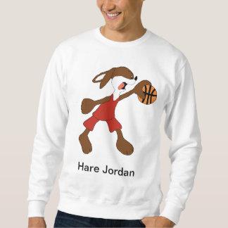 Cartoon Rabbit Michael Jordan Fan Pullover Sweatshirt