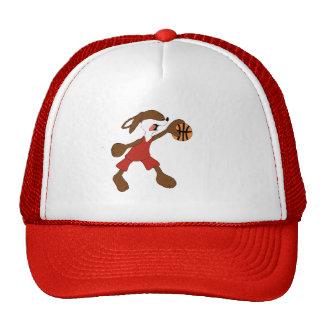 Cartoon Rabbit Michael Jordan Fan Trucker Hat