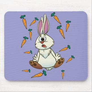 Cartoon Rabbit Mouse Pad