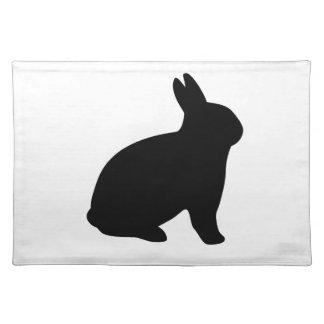 cartoon rabbit placemat
