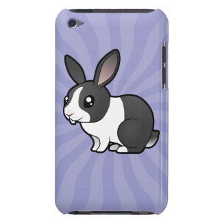 Cartoon Rabbit (uppy ear smooth hair) Barely There iPod Case