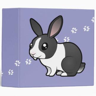 Cartoon Rabbit (uppy ear smooth hair) Binder