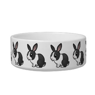 Cartoon Rabbit (uppy ear smooth hair) Bowl