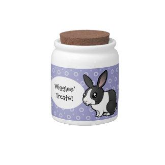 Cartoon Rabbit uppy ear smooth hair Candy Dish