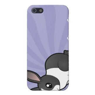 Cartoon Rabbit (uppy ear smooth hair) Case For iPhone SE/5/5s