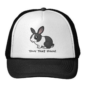 Cartoon Rabbit (uppy ear smooth hair) Trucker Hat