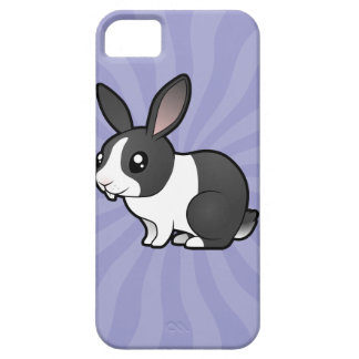 Cartoon Rabbit (uppy ear smooth hair) iPhone SE/5/5s Case