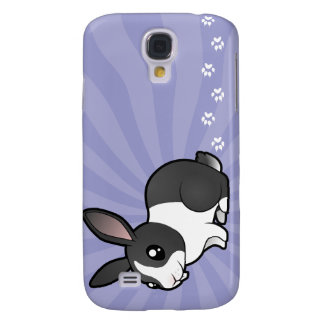 Cartoon Rabbit (uppy ear smooth hair) Samsung Galaxy S4 Case