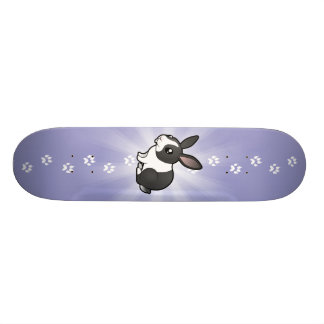 Cartoon Rabbit (uppy ear smooth hair) Skateboard
