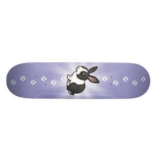 Cartoon Rabbit (uppy ear smooth hair) Skateboard