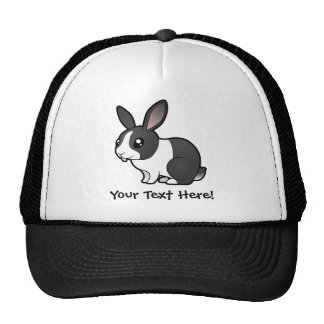 Cartoon Rabbit (uppy ear smooth hair) Trucker Hat