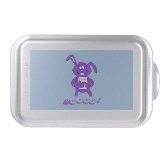 Cartoon Rabbit With Sugar T-Shirt Cake Stand Cake Pan